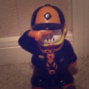 A piggy bank Garfield